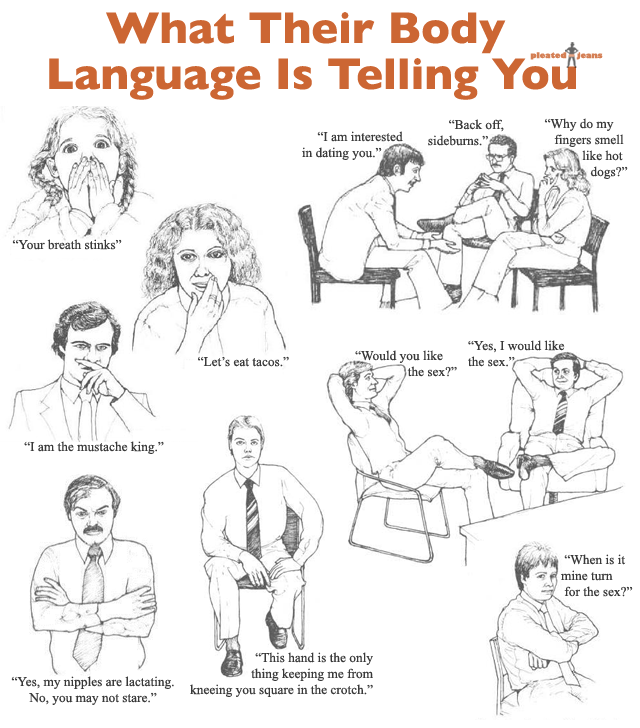 Reading female body language flirting