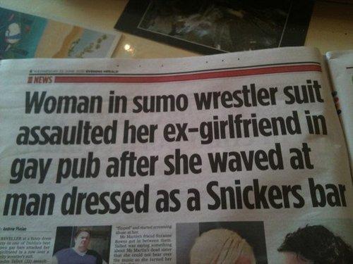20 Funny Newspaper Headlines | Pleated Jeans