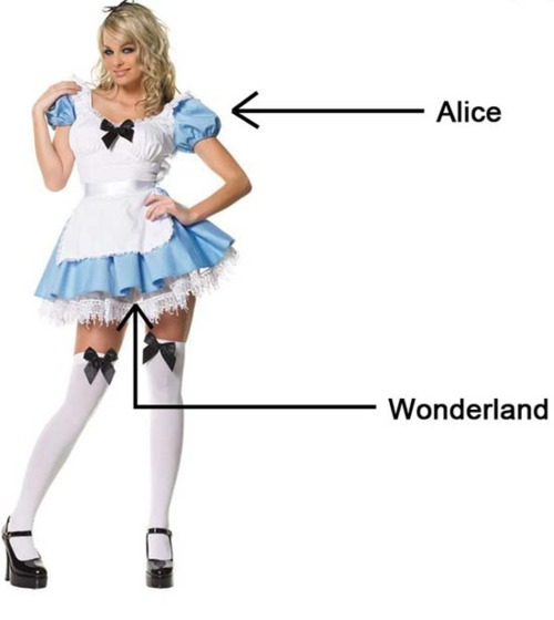 Alice sexy blonde costume roleplay httpbitdofetishqueen - 4 6