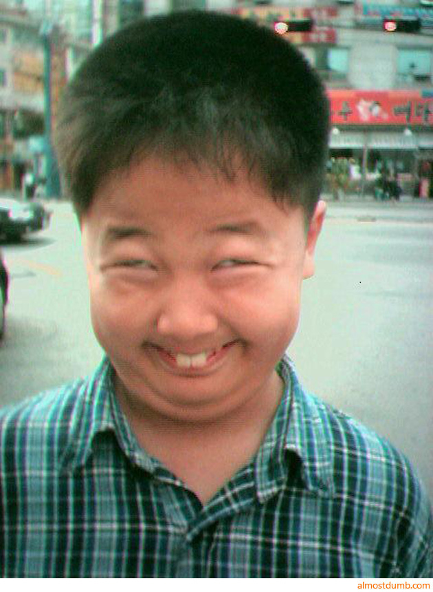 Funny Chinese Faces