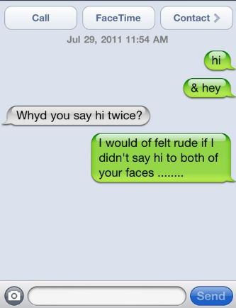 rude text messages to send