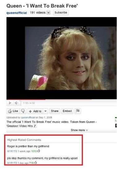 18 Funny Youtube Comments