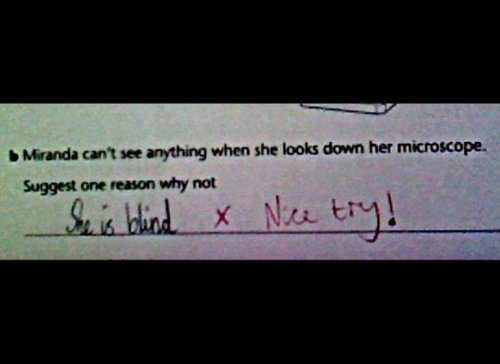 Funny Test Answers (20)