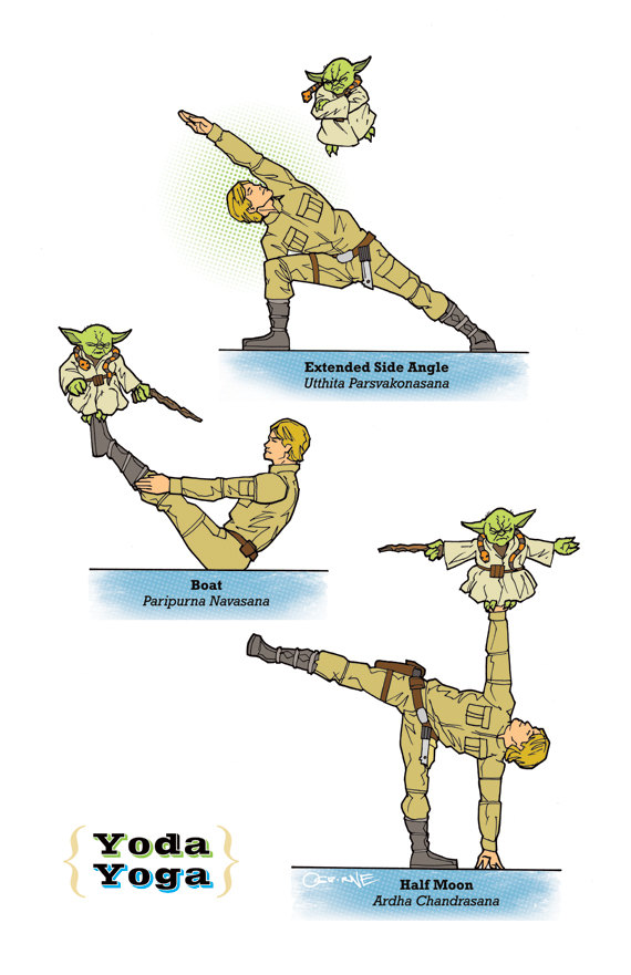 Star Wars Yoga Poses (4)
