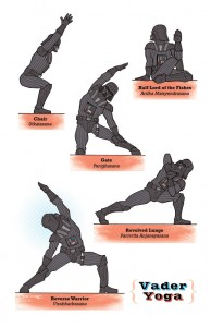 Star Wars Yoga Poses (1)