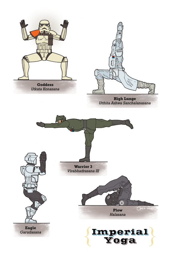 Star Wars Yoga Poses (3)