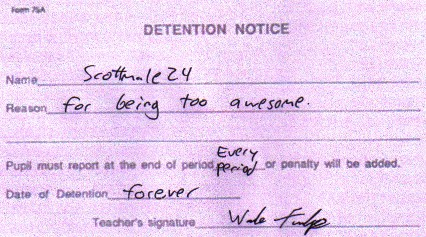 Funny Detention Slips (8)