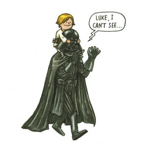 Darth Vader and Son by Jeffrey Brown (12)