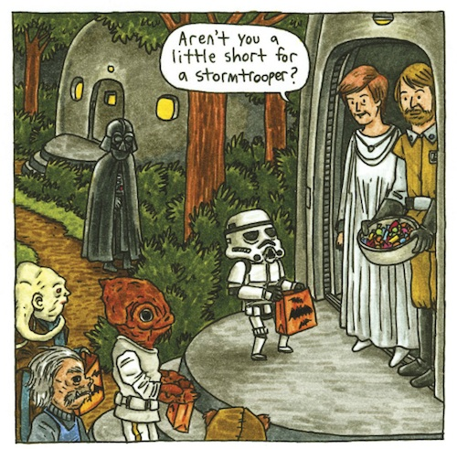 Darth Vader and Son by Jeffrey Brown (10)
