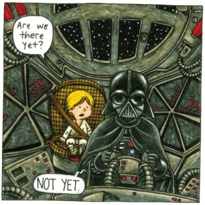 Darth Vader and Son by Jeffrey Brown (8)