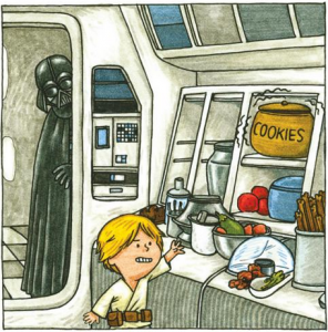 Darth Vader and Son by Jeffrey Brown (3)