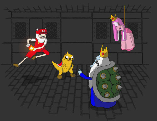Adventure Time Crossovers and Mashups (3)