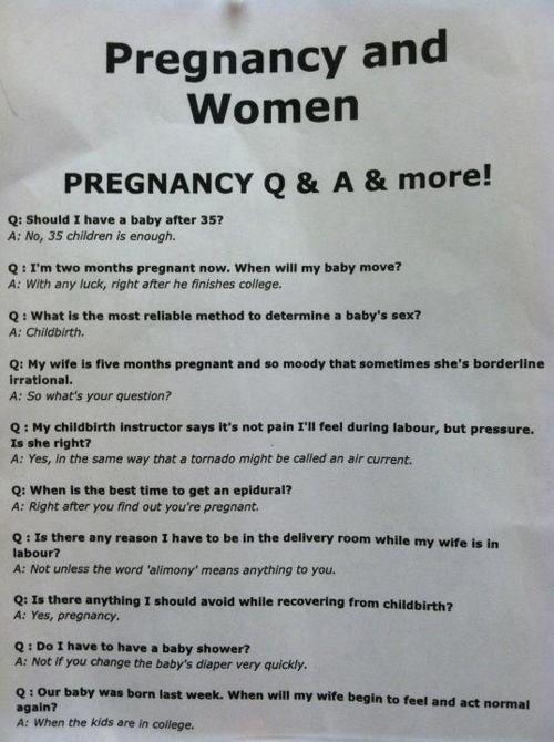 Pregnancy FAQ (1)