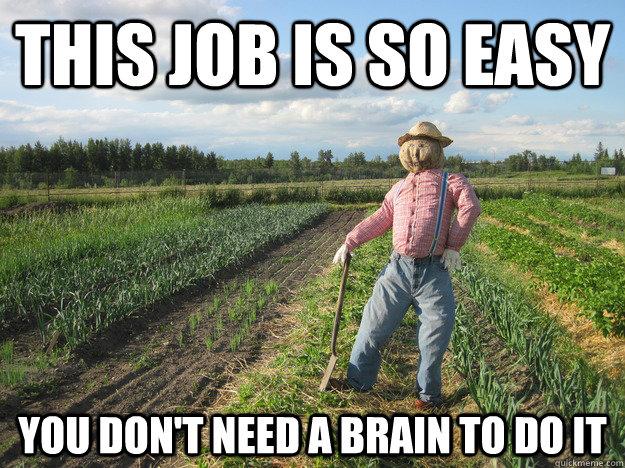 Scarecrow Farmer Meme (2)