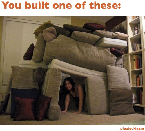 Delighful Cool Couch Forts Intended Inspiration