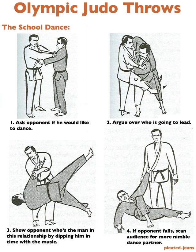 6 Judo Throws You'll See at the Olympics | Pleated-Jeans.com