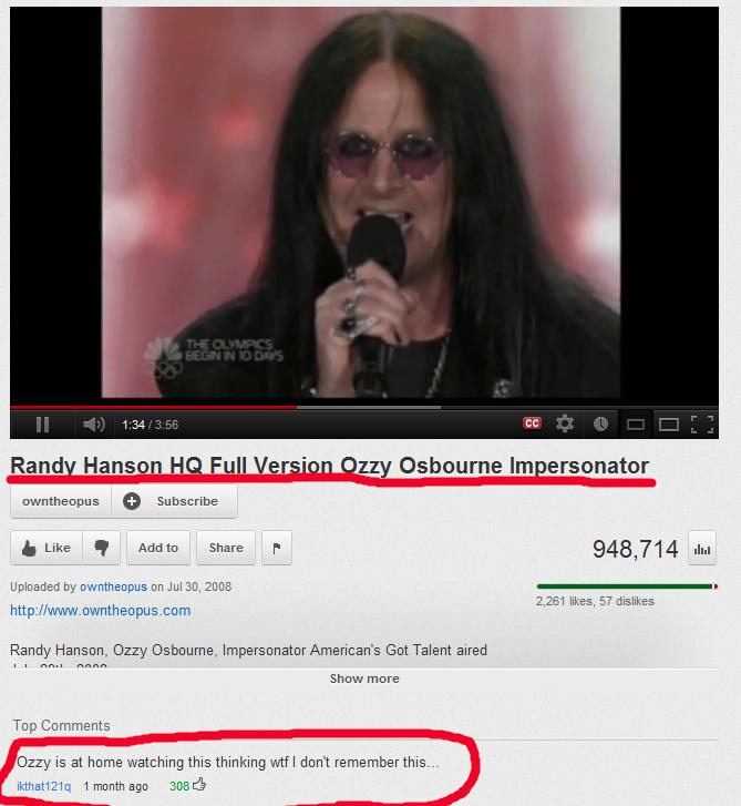 16 Funny Youtube Comments (7.2.12)