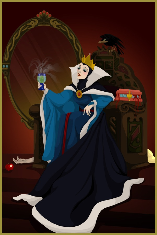 Disney-Villain-evil-queen-snow-white-winning-by-Justine ... Disney Evil Queen Snow White