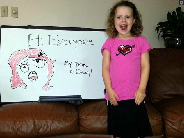 Little Girl Funny Smile Meme : Little girl uses memes to raise money for school