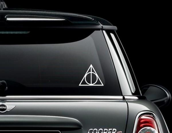Harry Potter Car Decals (2)