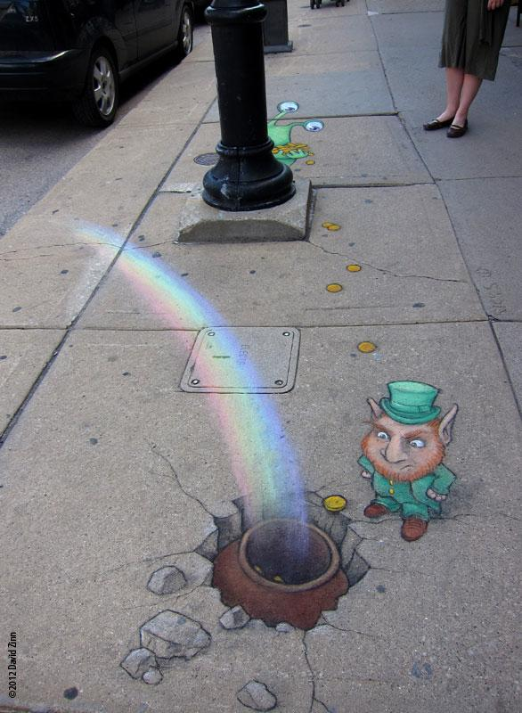 leprechaun_by_david_zinn