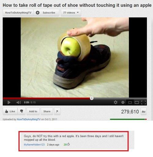 Funniest Meme Comments : Funny youtube comments pleated jeans