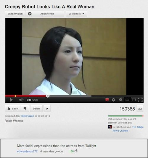 18 Funny Youtube Comments (9.5.12)