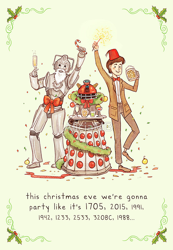 Awesome Holiday Cards for Geeks (6 Pics) – Pleated Jeans