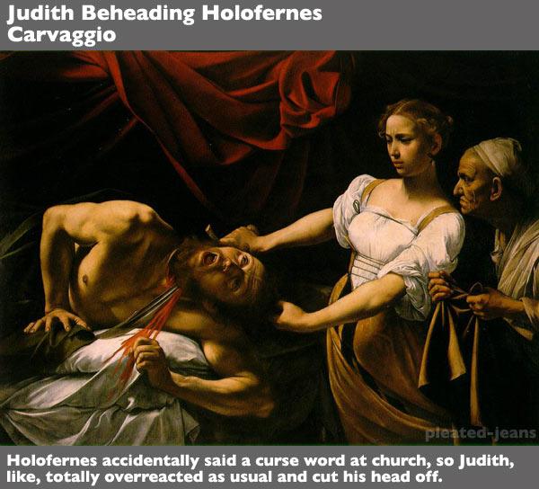 Judith-Beheading-Holofernes-Caravaggio