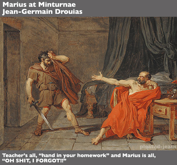 Marius-at-Minturnae-Jean-Germain-Drouais