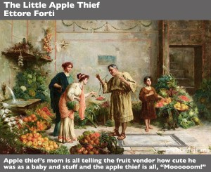 The-Little-Apple-Thief-Ettore-Forti