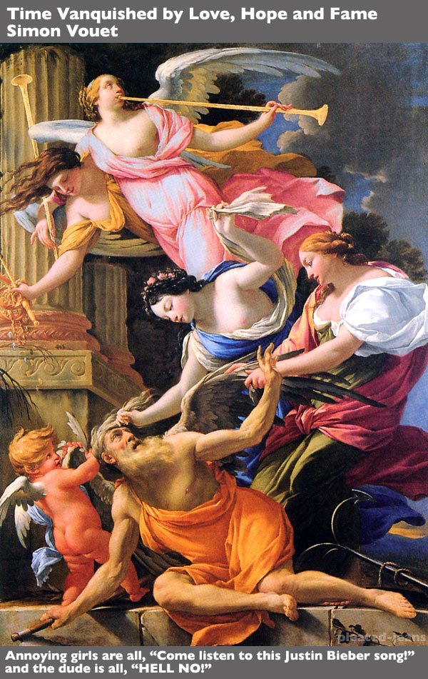 Time-Vanquished-by-love-hope-and-fame---simon-vouet