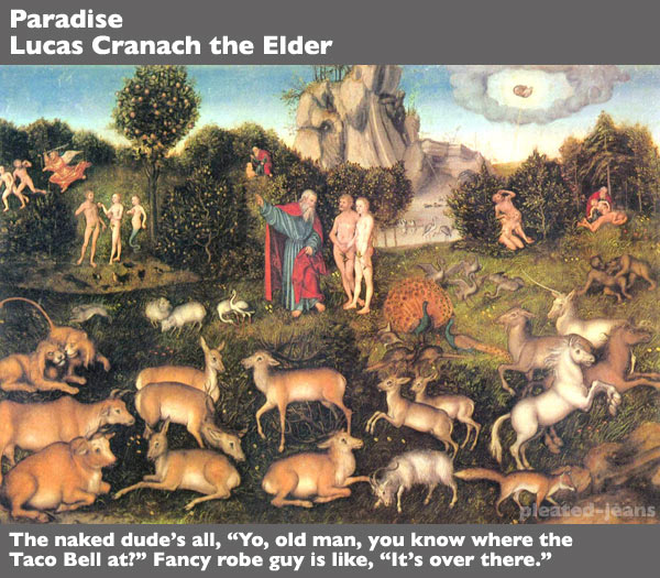 paradise-Lucas-Cranach-the-Elder