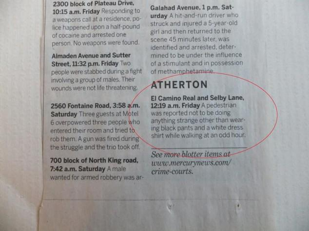 Police Blotter for One of the Richest Zip Codes is
