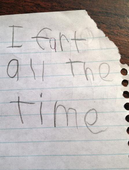 21 funny letters and notes from kids