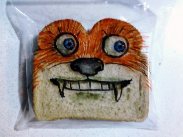 Awesome Dad Treats Kids To Daily Sandwich Bag Drawings 28