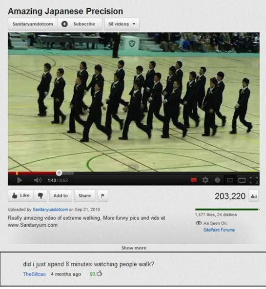 20 Funny Youtube Comments (4.9.13)