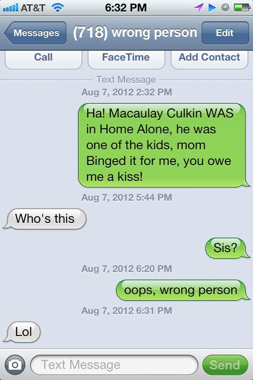 Blog Pranks Cell Phone Users With Wrong Number Texts