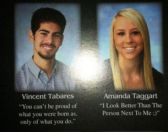 24 funny yearbook quotes pleated jeans