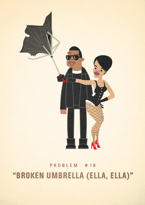 Lyrics to umbrella by rihanna and jay z