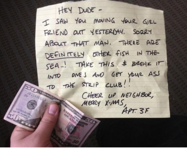 Funny Memes To Cheer Up Your Boyfriend : Heart warming random acts of kindness pleated jeans