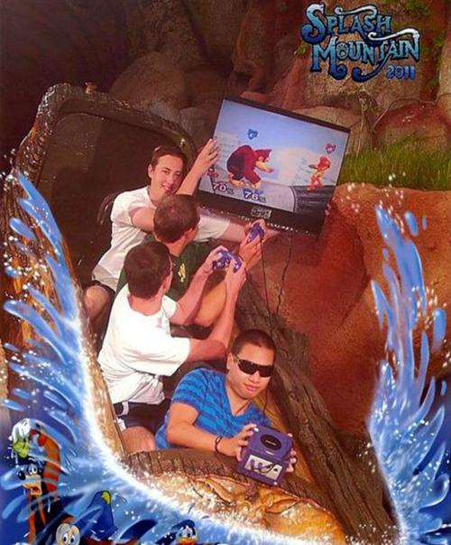 Splash Mountain Funny 5 1 - Great funny splash mountain photos