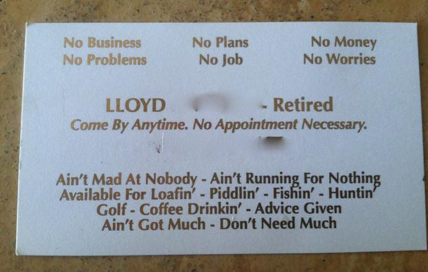 funny business cards
