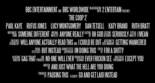 Funny Little Moments Found in Movie Credits (22 Pics
