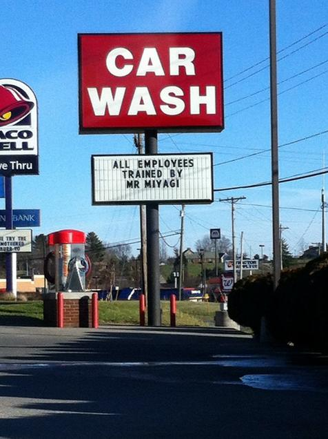 Car Wash Oil Change