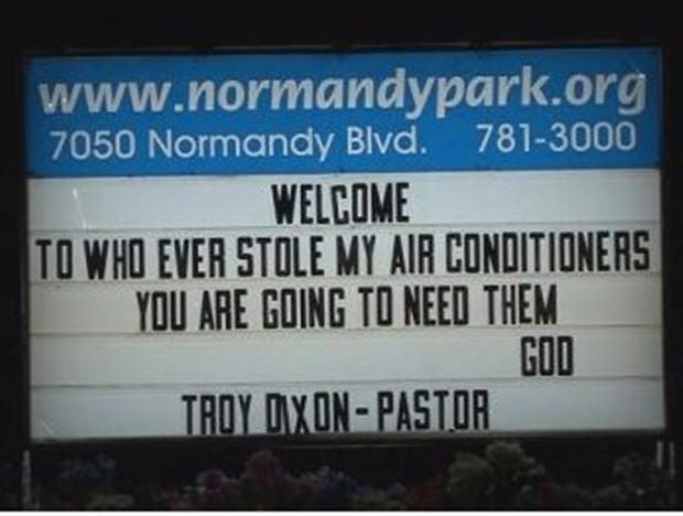 25 Funny Church Signs | Pleated Jeans