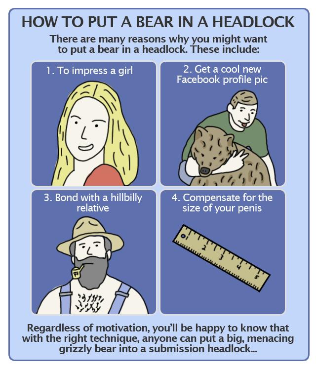 Learn a Killer Headlock   Big Stick Combat Blog  Funny Headlock