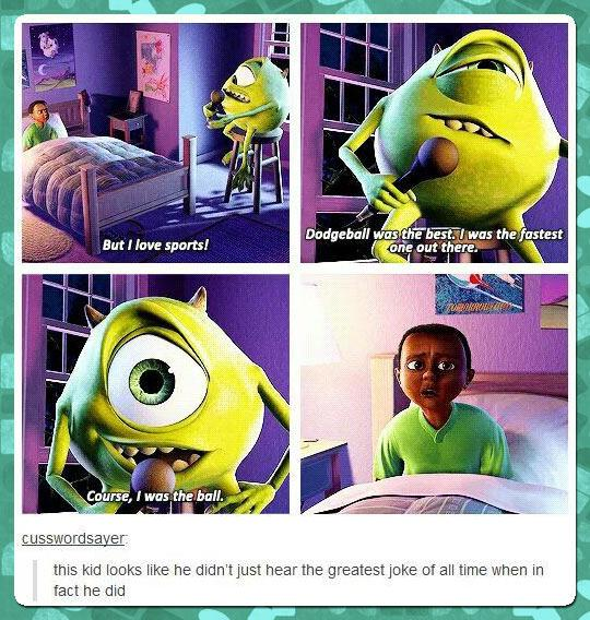 Best Comedy Quotes Of All Time: Funny Quotes From Monsters Inc. QuotesGram