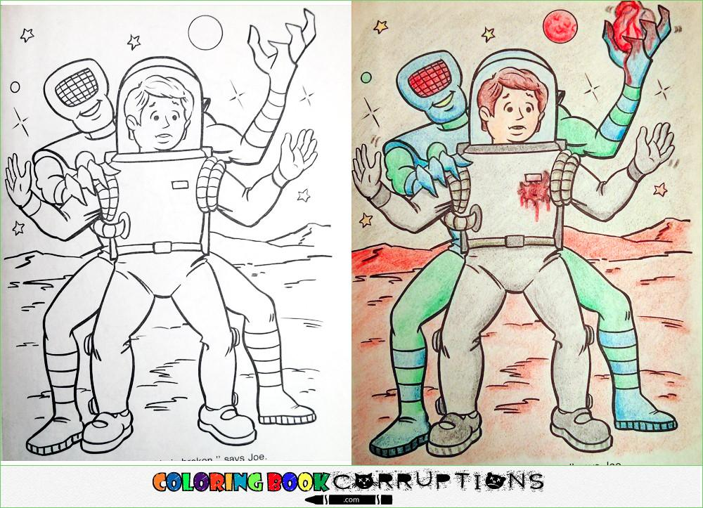 14 Coloring Book Corruptions
