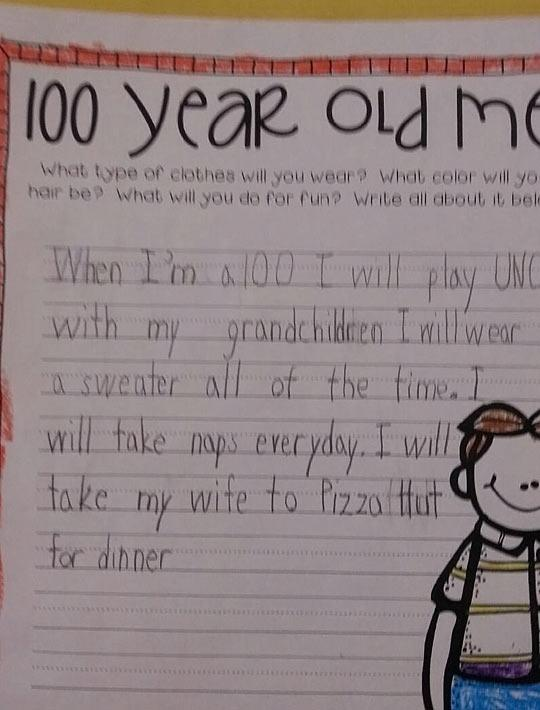 20 Funny Written Notes From Kids Pleated Jeans